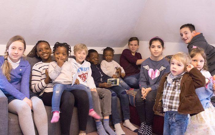 Bild von Kindergruppe
